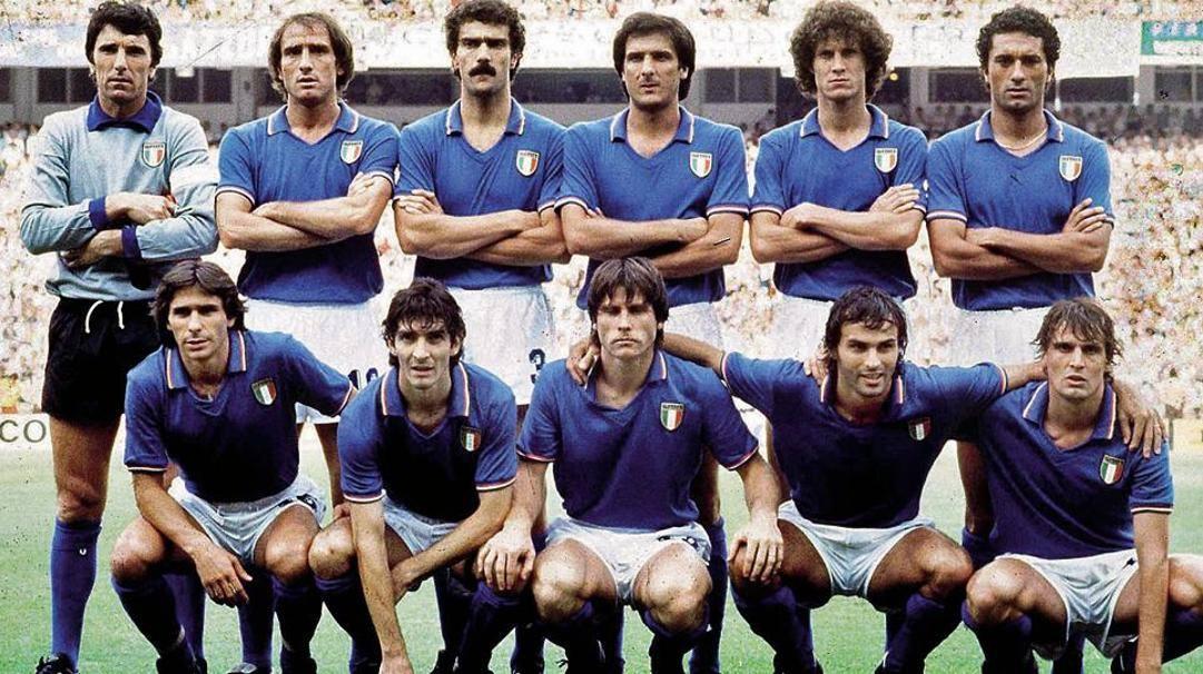 L'11 titolare dell'Italia contro la Germania nel 1982